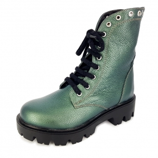 Ghete dama ROCK imblanite 816 Verde Sidef