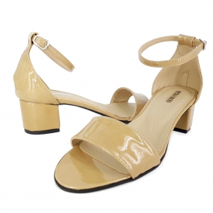 Sandale STEFY Piele LCappucino